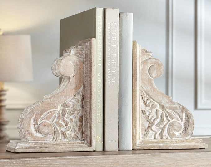 Carved Wood Corbel