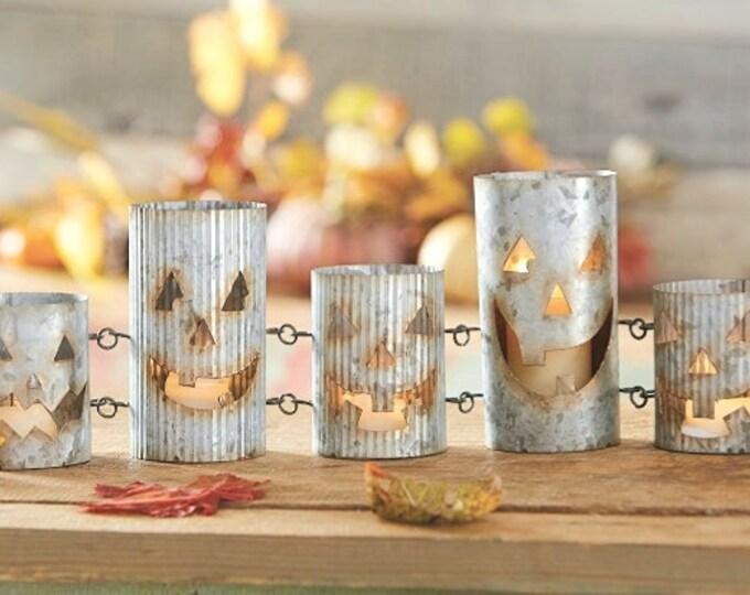Jack-O-Lantern Candle Votive