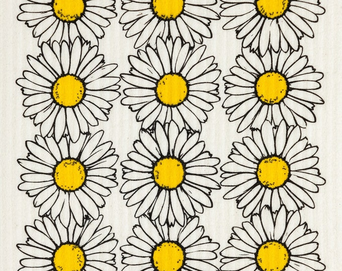 Daisies Swedish Cloth