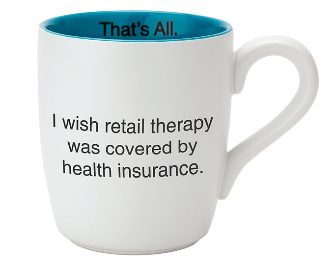 That's All Mug - Retail Therapy