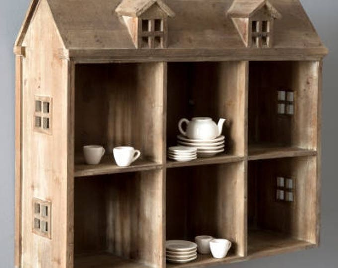 Wood Doll House Display