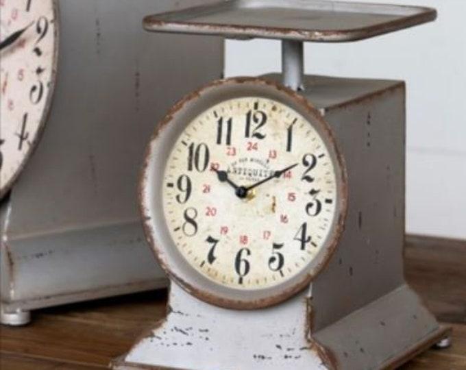 Little Grocery Scale Clock