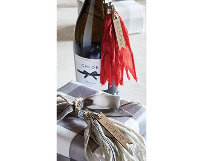 Tassel Tag - Making Spirits Bright