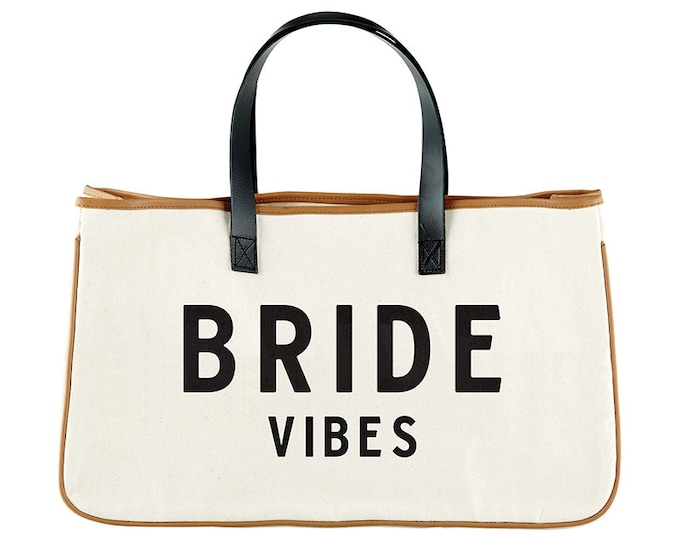 Canvas Tote- Bride Vibes