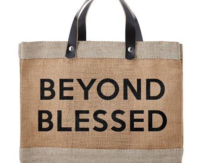 Beyond blessed-Market jute