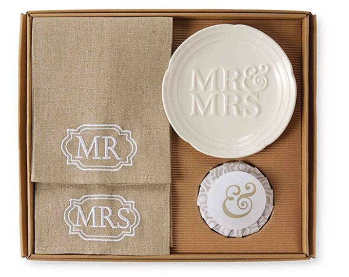 Mr & Mrs Towel Set