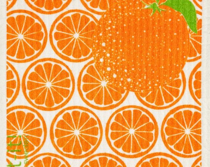 Oranges Swedish Cloth