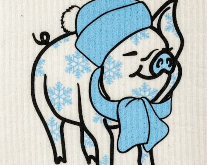 Winter pig swedish cloth