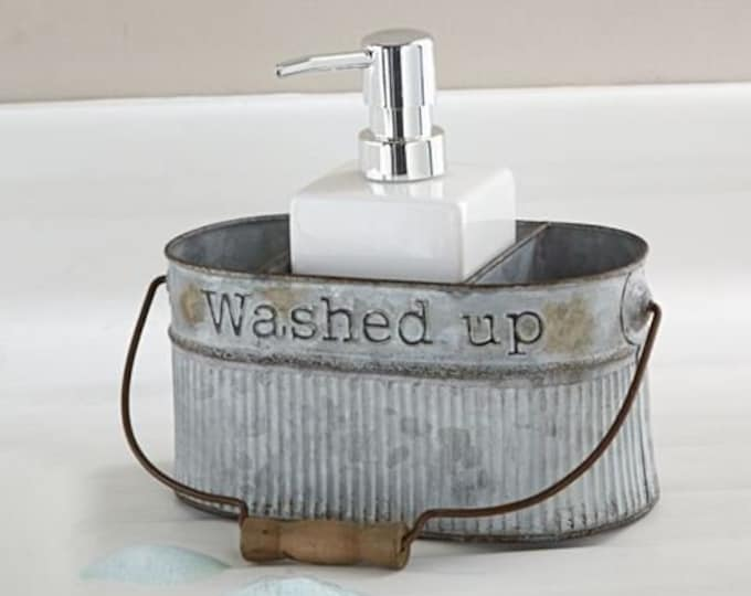 Tin Soap Pump Set