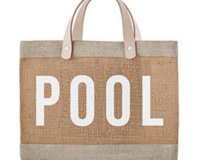 Pool- market tote