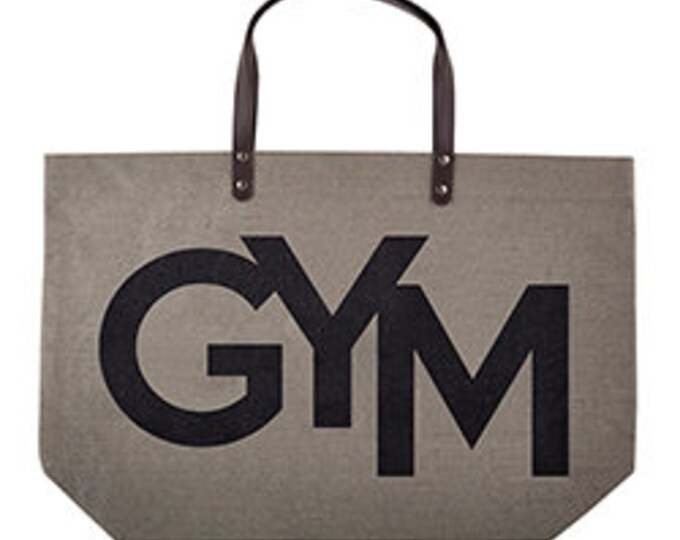 Gym jute bag