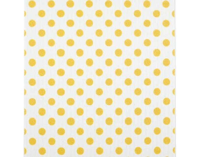 Yellow Dot Swedish Cloth