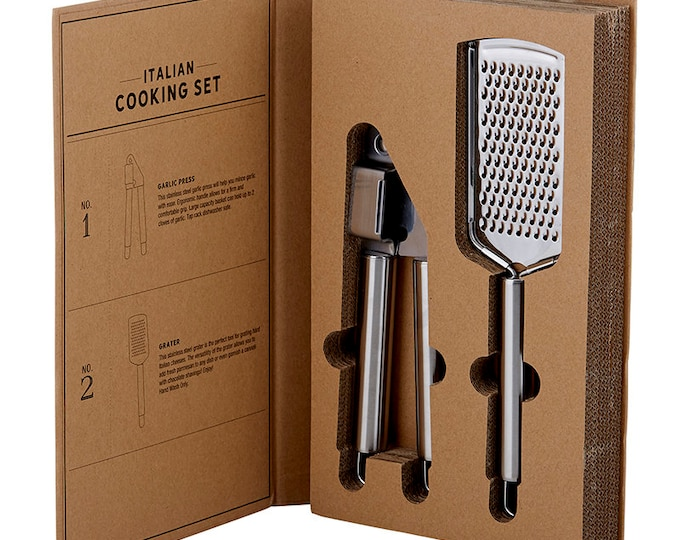 Cardboard Book Set - Italian Cooking