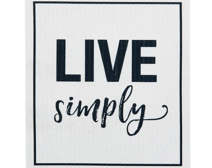 Live Simply Swedish Cloth