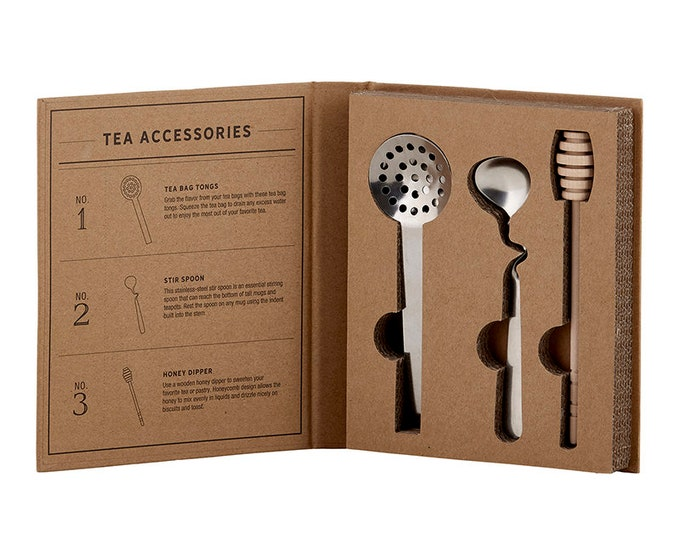 Cardboard Book Set - Tea