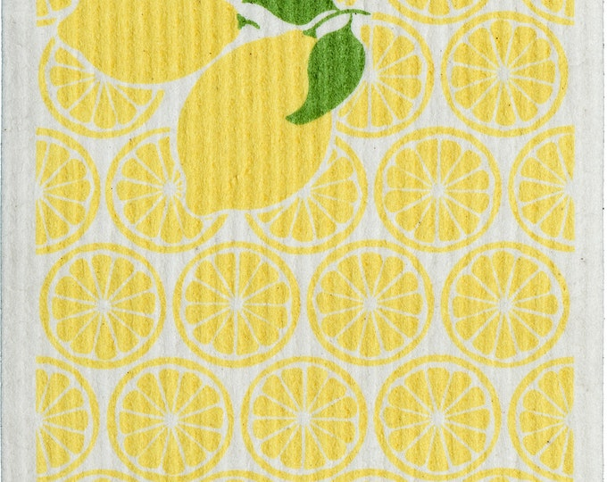 Lemon Swedish Cloth