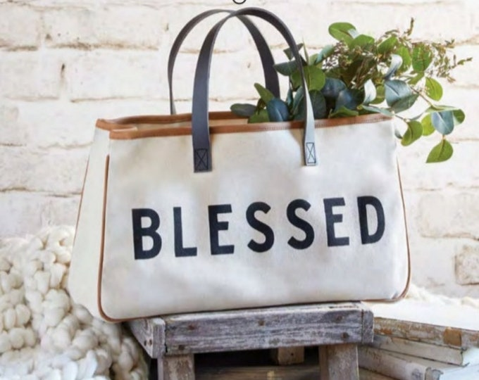 Blessed-Canvas Tote Bag