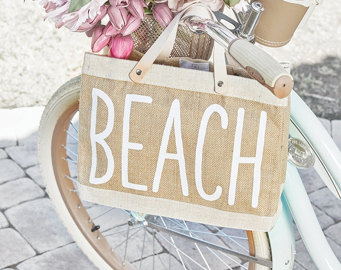 Market Tote - Beach