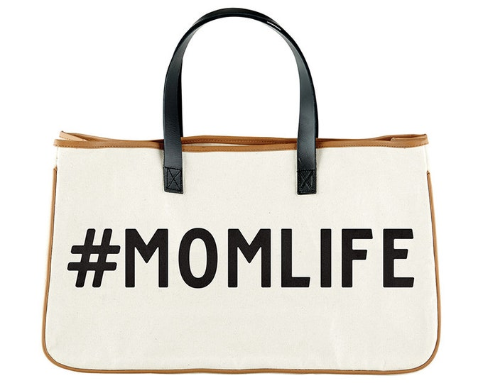 Canvas Tote- Mom Life
