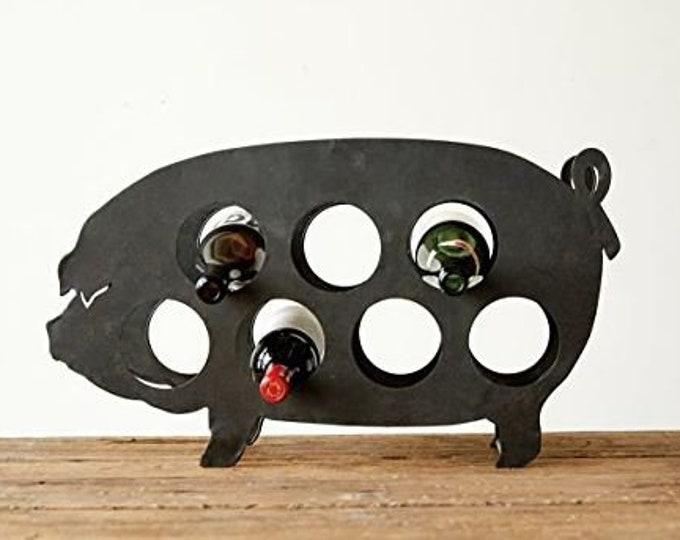 Pig Wine Rack