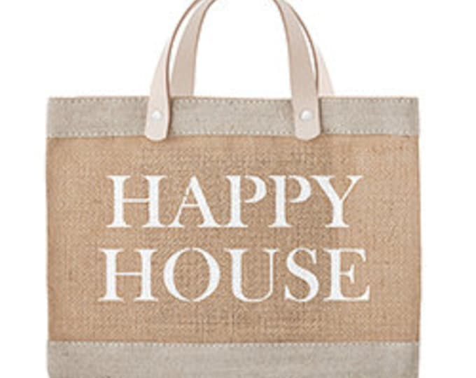 Happy house market tote