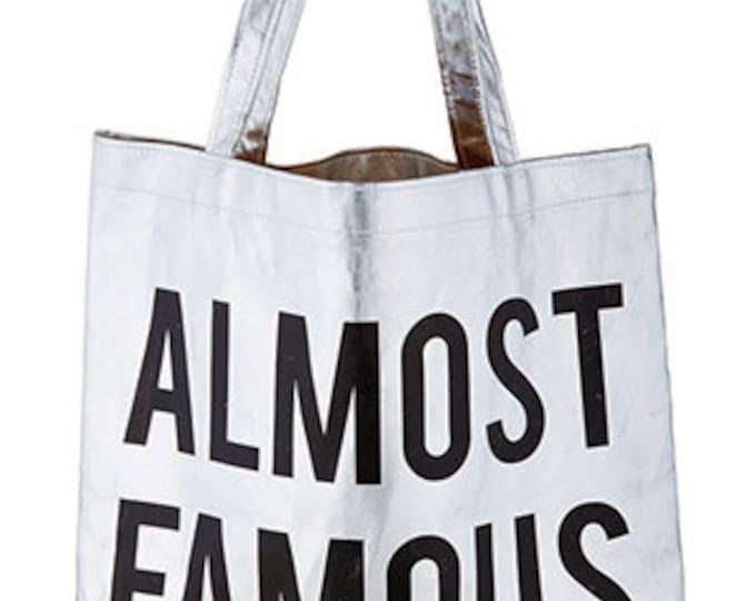 Platinum Tote - Almost Famous