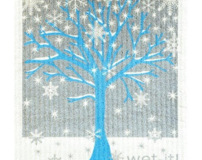 Winter tree swedish  cloth