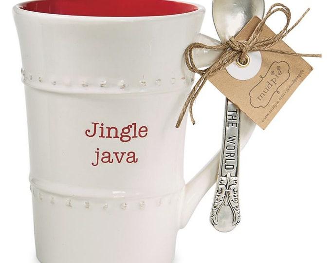 Christmas Mugs, Jingle Java, Holiday Grind, Dashing Joe