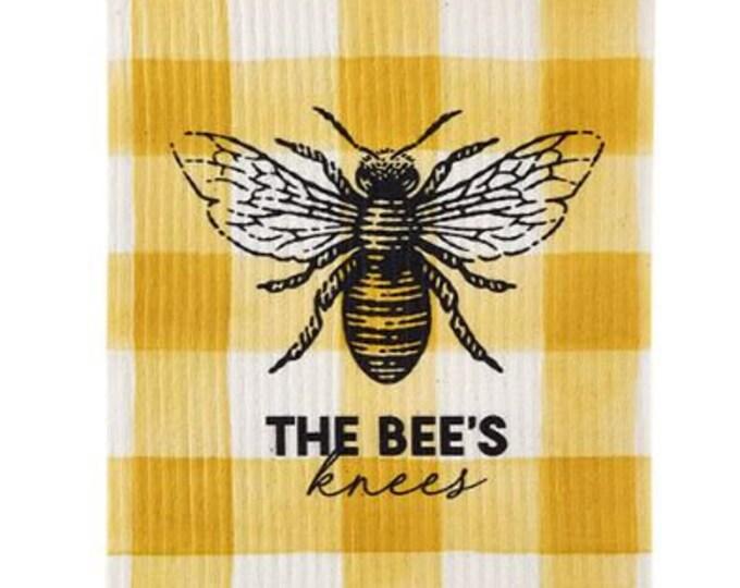 Bee's Knees Swedish Dishcloth