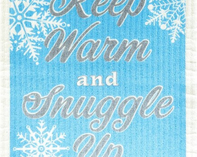 Keep warm and snuggle up swedish cloth