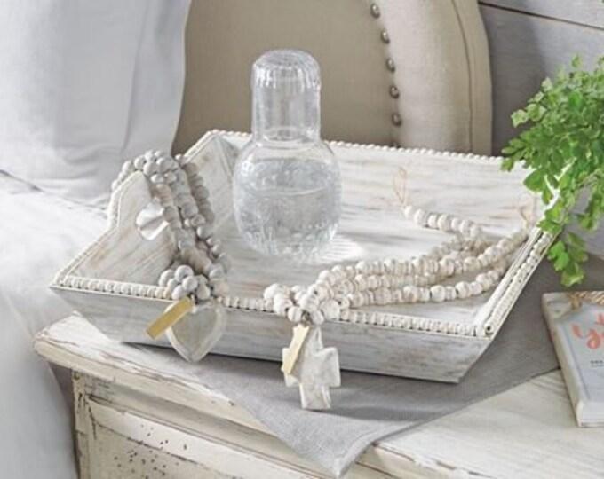 Cross & Heart Decorative Beads