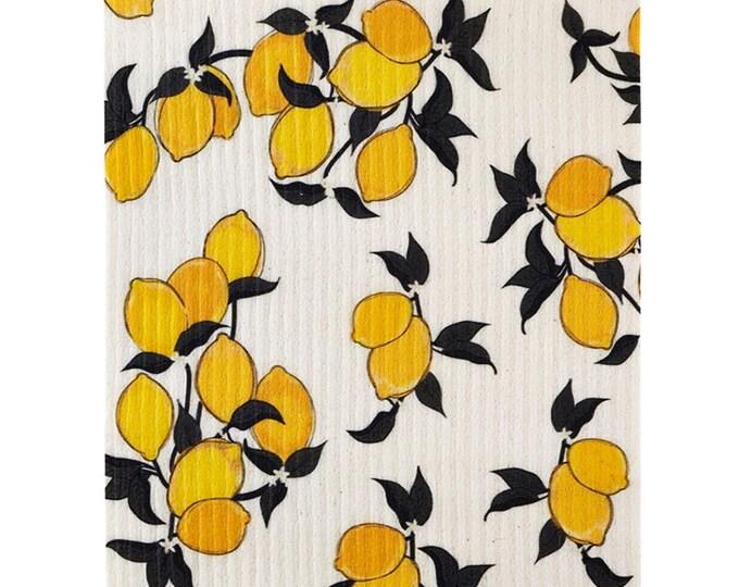 Lemons Swedish Cloth