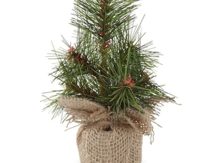 Mini Faux Pine Tree