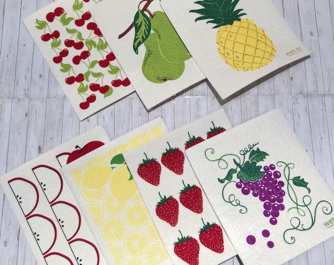 Fruit Swedish Cloth