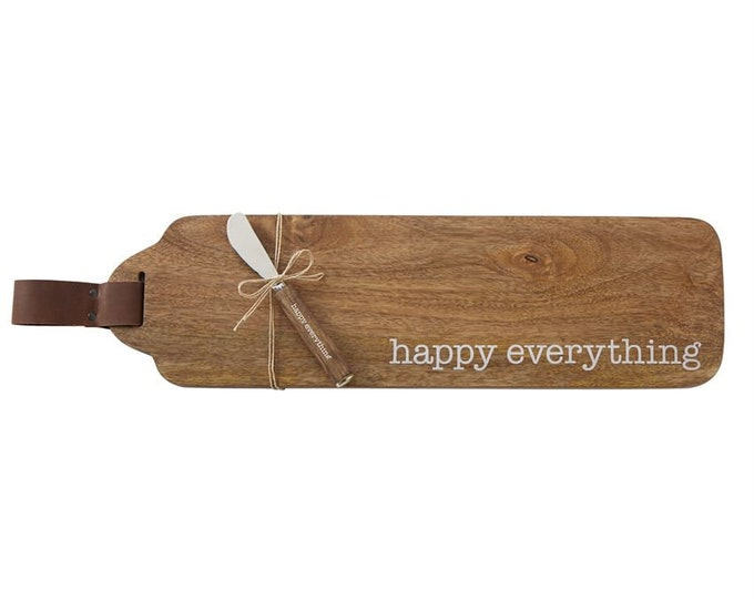 Wood Serving Board Set - Happy Everything