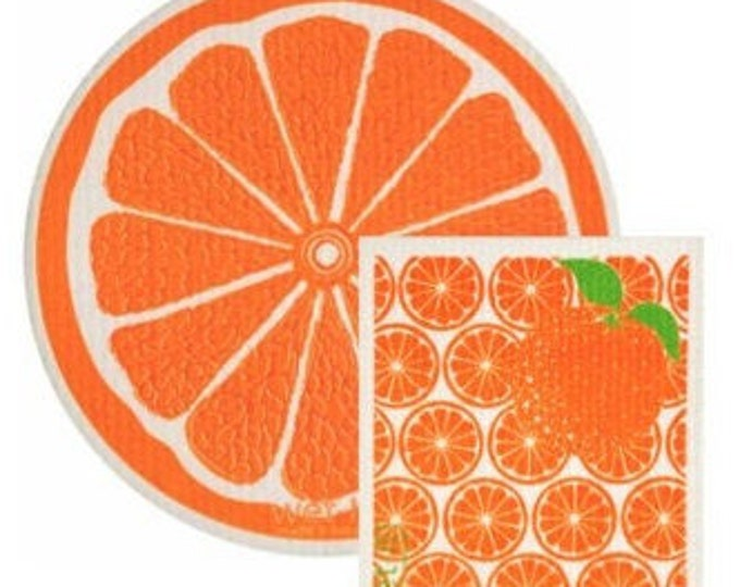 Orange Swedish Cloth Set
