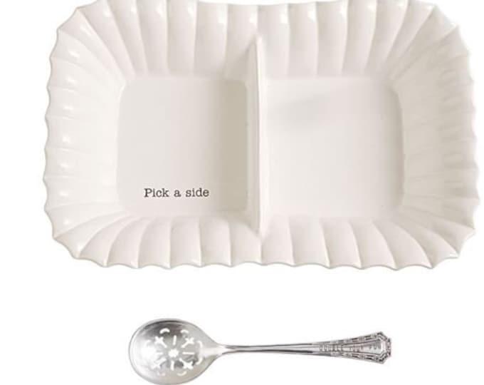 Large Divided Side Dish Set