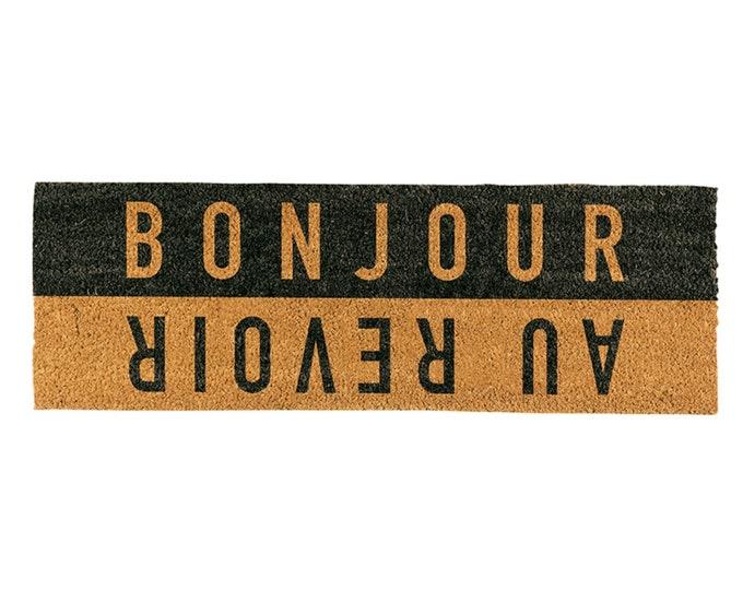 Au Revoir / Bonjour- doormat
