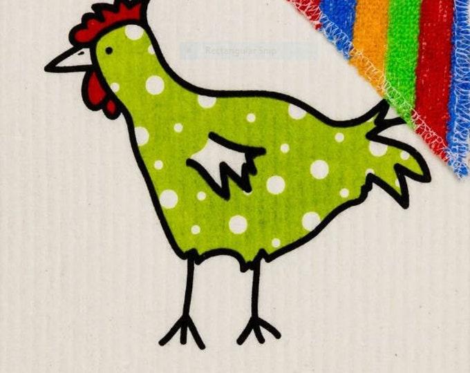 Spotted Green Chicken Wet'n Scrub