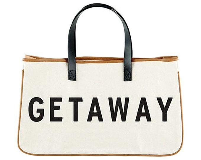 Canvas Tote- Getaway