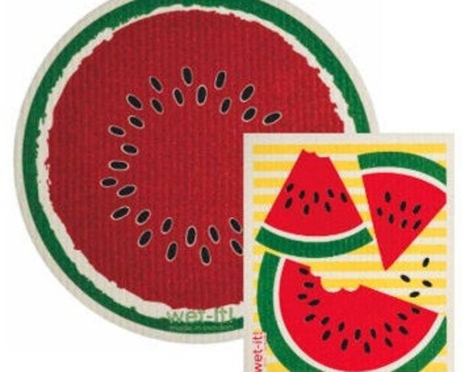 Wonderful Watermelon Swedish Cloth Set