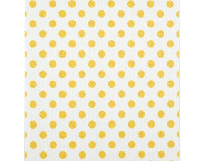 Yellow Dot Swedish Cloth