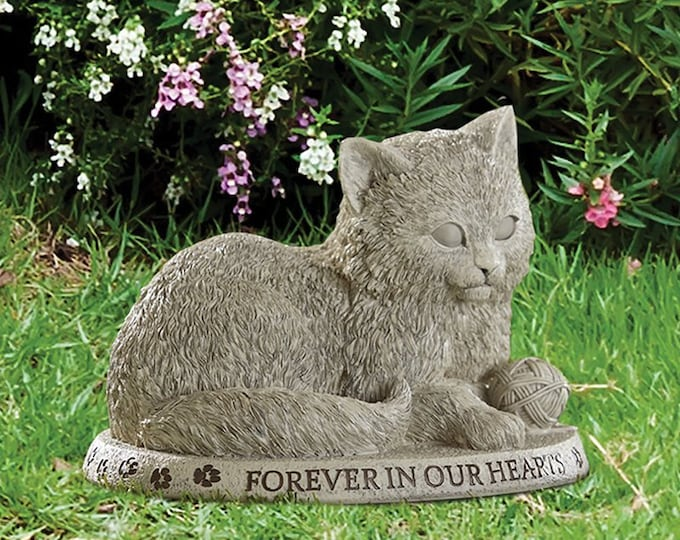 Forever in Our Cat Garden Marker