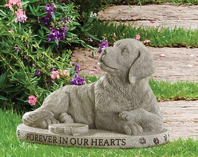 Forever in Our Heart Dog Garden Marker