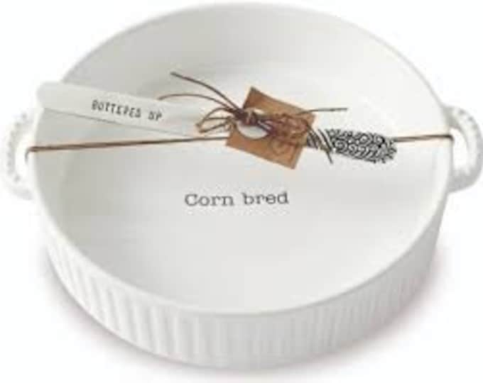 "Corn ""Bred"" Serving Dish"