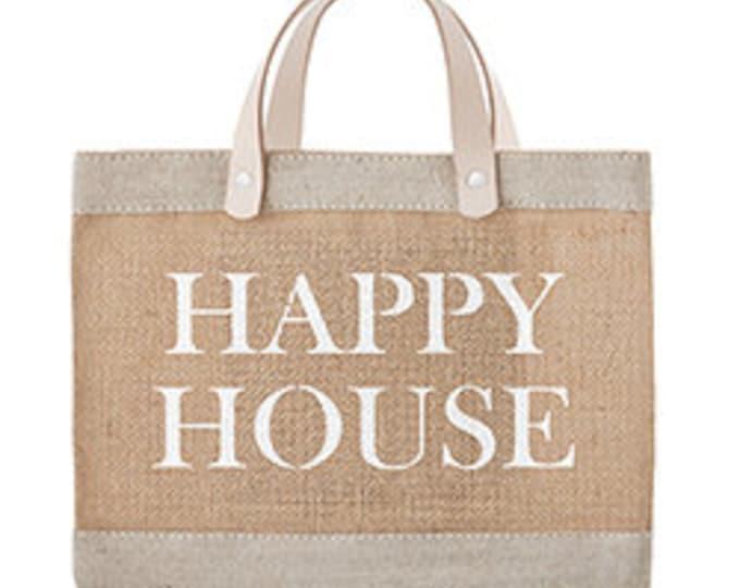 Happy house market tote