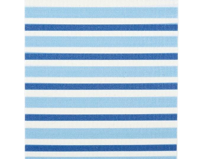Blue Striped Swedish Cloth