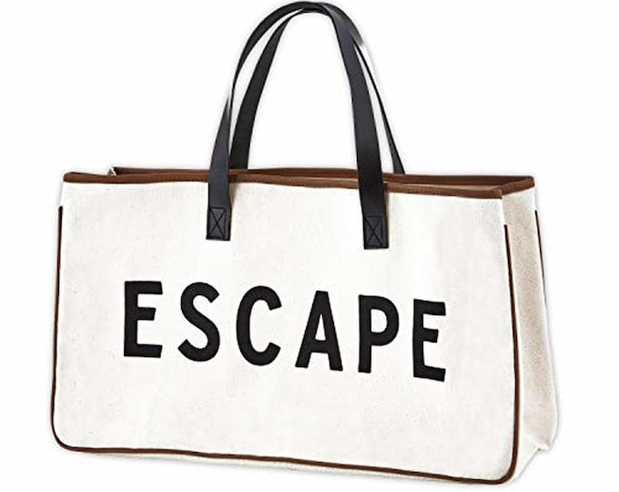 Canvas tote bag-Escape