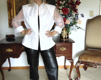 Black Leather Pants For Concerts, Rodeos,Cocktails,Gallery Openings, Art Shows, Resort Wear,Motor Cycle Riders, Entertainers, Traveling