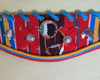 Festive Southwestern Belt For Rodeos, Western Dance, Concerts, Horse Shows, Cruise Wear, Art Galleries, Entertainers, Boots & Jeans